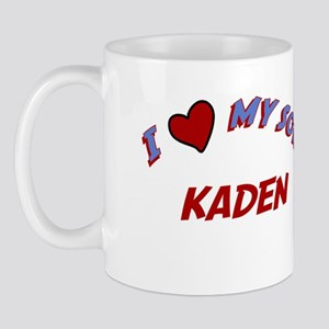I Love My Son Kaden Mug