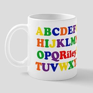 Riley - Alphabet Mug