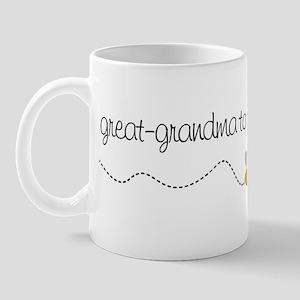great grandma to be t-shirt Mug