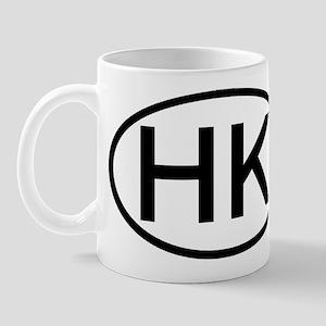 Hong Kong - HK - Oval Mug