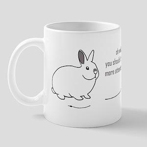 oh well... (bunnies chew cabl Mug