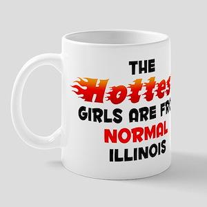 Hot Girls: Normal, IL Mug