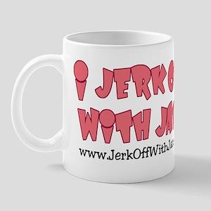 Jerk off with Jane w/Cartoon Mug