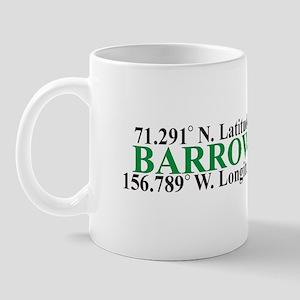 Barrow Lat-Long Mug
