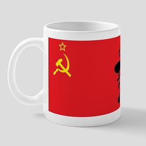 Lenin Soviet Flag Mug