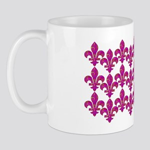 FleurMosaicGfPinkb3hz Mug
