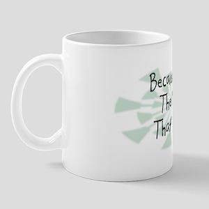 Because MBA Mug