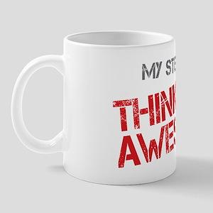 Stepmom Awesome Mug