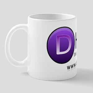 d-hits-logo - july 2011 - trans bkgd Mug