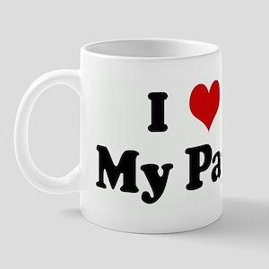 I Love My Papi Mug