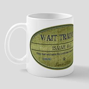 Wait Training Mug