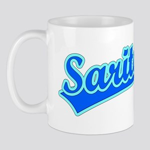 Retro Sarita (Blue) Mug