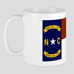 North Carolina United States Flag Mug