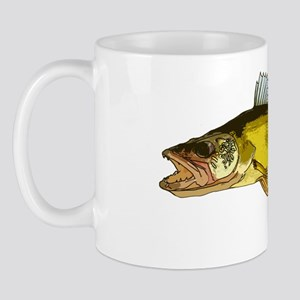 walleye art Mug