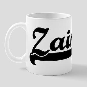 Black jersey: Zain Mug