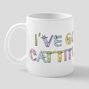 Cattitude Funny Cat Saying Mug