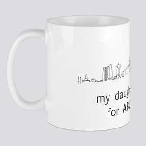 My Daughter left me for Abu Dhabi... Mug