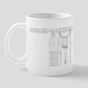 C. elegans Lineage Mug