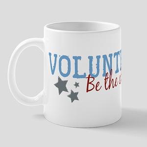 Volunteer Be the Change Mug