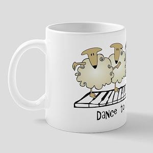 Sheep Chorus Line Mug