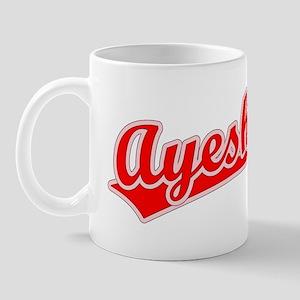 Retro Ayesha (Red) Mug