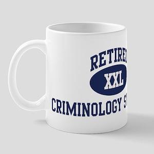 Retired Criminology Student Mug