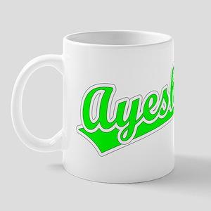 Retro Ayesha (Green) Mug