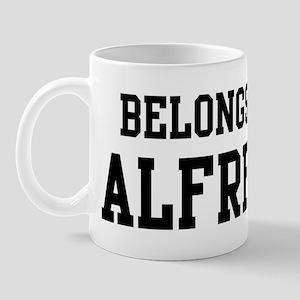 Belongs to Alfredo Mug