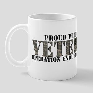 Proud Wife of a Veteran (Oper Mug