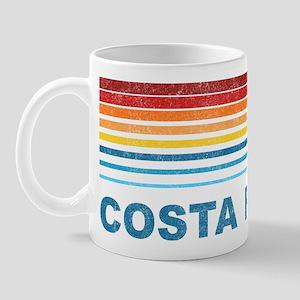 Retro Costa Rica Palm Tree Mug
