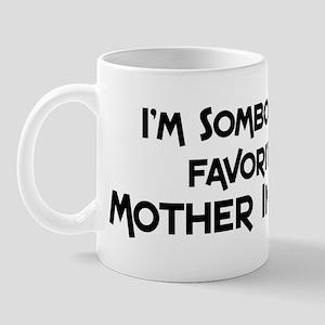 Favorite Mother In Law Mug