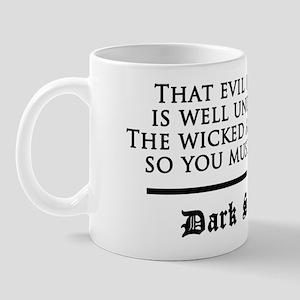 Dark Shadows Evil Is Wicked Mug