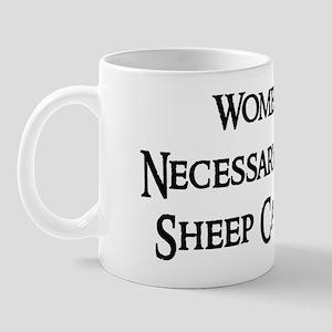 Women and Sheep Mug