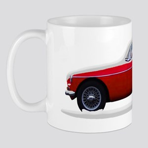MG MGB Midget Snow Snow Covered Mug