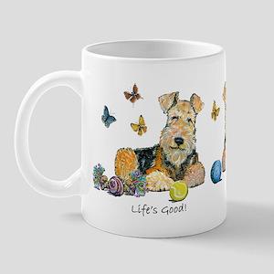 Life is Good Terrier Mug