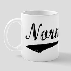 Vintage Normal (Black) Mug