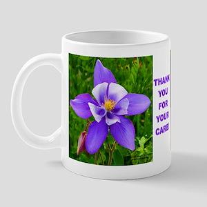 Mug  : Thank You -flowers