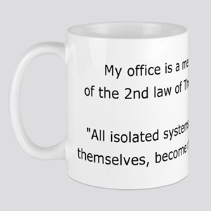 Messy Office Mug