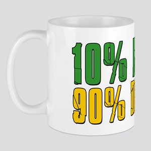 10 Percent Irish Mug