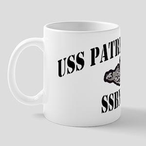 phenry ssbn black letters Mug