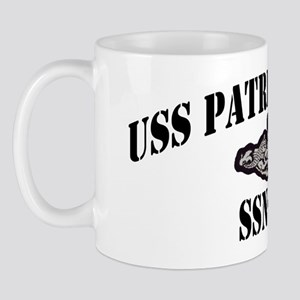 phenry ssn black letters Mug