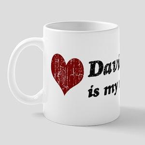 David is my valentine Mug