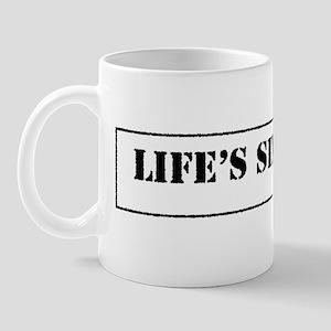 Lifes Six Rules Mug