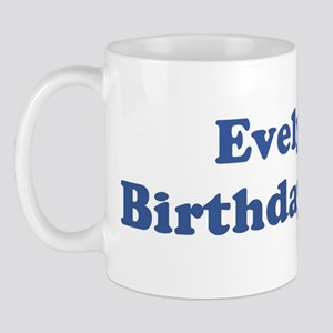 Evelyn birthday shirt Mug