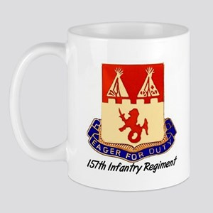 Mug w/ 157th Crest & Thunderbird