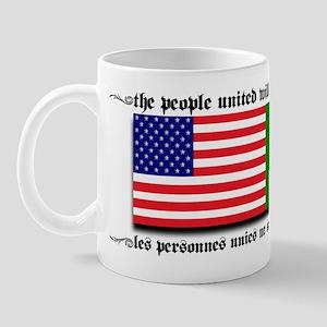 USA - Senegal Mug