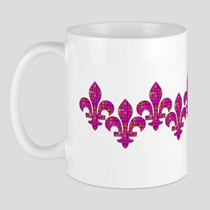 FleurMosaicGfPinkbhz Mug