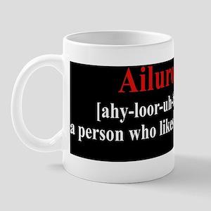 Ailurophile Car Magnet Mug