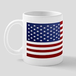 10x3_sticker_american_flag Mug
