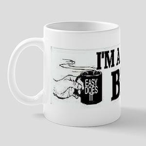 bil w sticker Mug